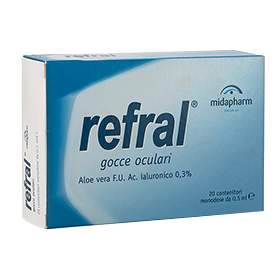 refral ophthalmic solution