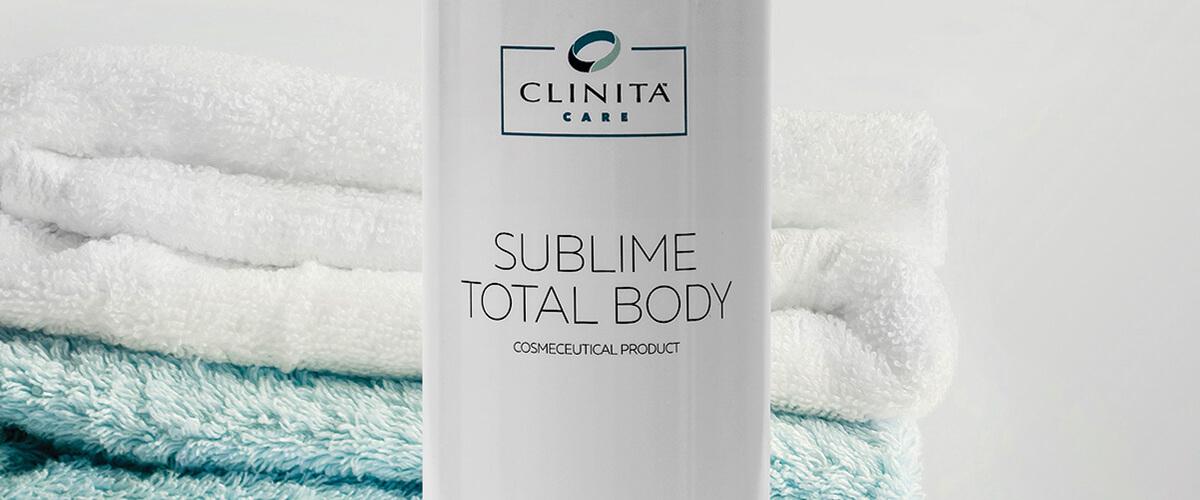 sublime total body clinita cream repairing antioxidant clinita
